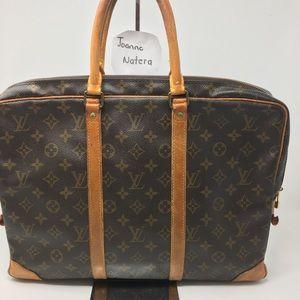 LOUIS Vuitton Porte document Briefcase